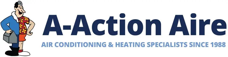Air Conditioning Replacement | HVAC Contractors | A-Action Aire Logo | A-Action Aire